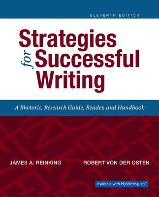 Strategies for Successful Writing - Reinking, James A, and Von Der Osten, Robert A