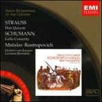 Strauss: Don Quixote; Schumann: Cello Concerto