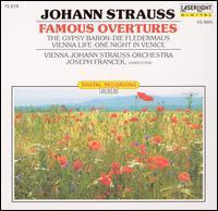 Strauss: Famous Overtures - Johann-Strauss-Orchester Wien; Joseph Francek (conductor)