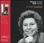 Strauss: Lieder; Wolf: Lieder