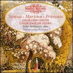 Strauss, Martinu, Françaix: Oboe Concertos; L'Horloge de Flore
