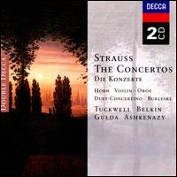 Strauss: The Concertos - Barry Tuckwell (french horn); Boris Belkin (violin); Dmitri Ashkenazy (clarinet); Friedrich Gulda (piano);...