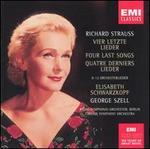 Strauss: Vier Letzte Lieder; 12 Orchesterlieder