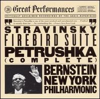Stravinsky: Firebird Suite; Petrushka - New York Philharmonic; Leonard Bernstein (conductor)