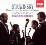 Stravinsky, Haubenstock-Ramati, Von Einem: String Quartets