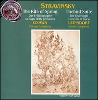 Stravinsky: Le sacre du printemps; Fireworks; The Firebird Suite -