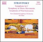 Stravinsky: Symphony in C; Symphony in Three Movements; Symphonies of Wind Instruments