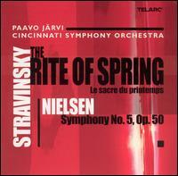 Stravinsky: The Rite of Spring; Nielsen: Symphony No. 5 - Richard Hawley (clarinet); William Platt (drums); Cincinnati Symphony Orchestra; Paavo Järvi (conductor)