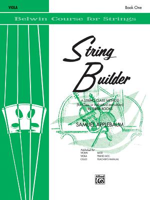String Builder, Bk 1: Viola - Applebaum, Samuel