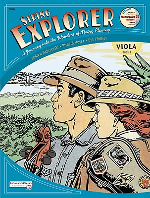 String Explorer, Bk 1: Viola, Book & Interactive CD - Dabczynski, Andrew H, and Meyer, Richard, and Phillips, Bob