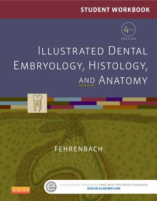 Student Workbook for Illustrated Dental Embryology, Histology and Anatomy - Fehrenbach, Margaret J