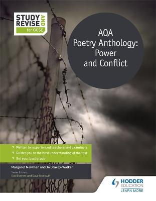 Study and Revise for GCSE: AQA Poetry Anthology: Power and Conflict - Newman, Margaret, and Gracey-Walker, Jo