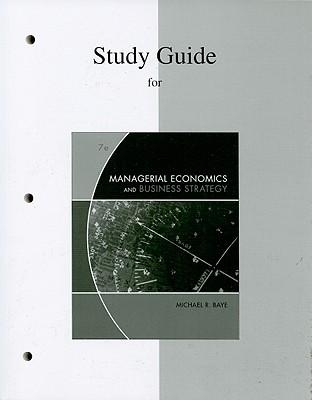 study guide for managerial economics and business strategy book by rh alibris com Economics Study Questions study guide for managerial economics and business strategy