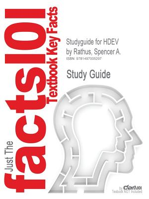 Studyguide for Hdev by Rathus, Spencer A., ISBN 9780176673116 - Cram101 Textbook Reviews