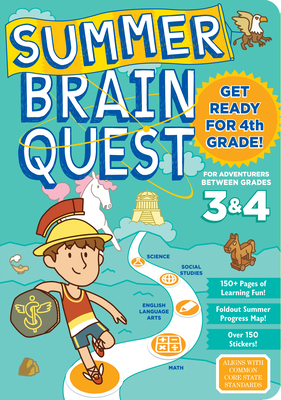 Summer Brain Quest: Between Grades 3 & 4 - Workman Publishing, and Walker, Persephone, and Piddock, Claire