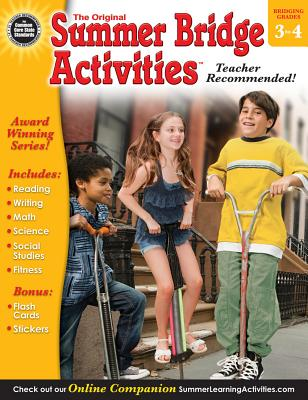 Summer Bridge Activities, Grades 3 - 4: None - Summer Bridge Activities (Compiled by), and Rainbow Bridge Publishing (Compiled by)