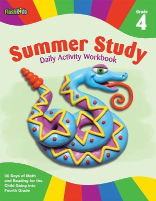 Summer Study Daily Activity Workbook: Grade 4 (Flash Kids Summer Study) - Flash Kids Editors (Editor)
