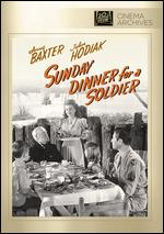 Sunday Dinner for a Soldier - Lloyd Bacon