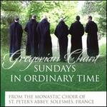 Sundays in Ordinary Time