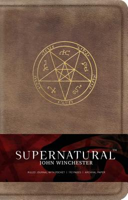 Supernatural: John Winchester Hardcover Ruled Journal - Insight Editions