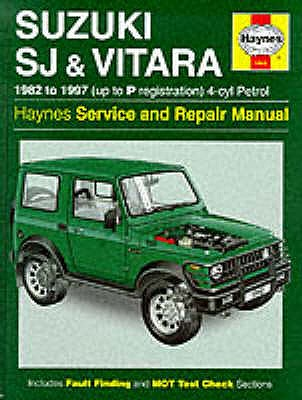 Suzuki SJ410/SJ413 (82-97) and Vitara Service and Repair Manual - Henderson, Bob, and Legg, A. K.