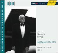Sviatoslav Richter: Piano Recital, 1994 - Sviatoslav Richter (piano)
