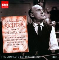 Sviatoslav Richter: The Master Pianist [The Complete EMI Recordings] [Box Set] - David Oistrakh (violin); Dietrich Fischer-Dieskau (baritone); Members of the Borodin Quartet;...