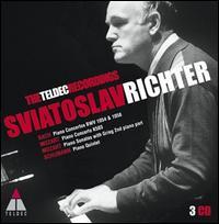 Sviatoslav Richter: The Teldec Recordings - Borodin Quartet; Elisabeth Leonskaja (piano); Sviatoslav Richter (piano); Orchestra di Padove e del Veneto;...