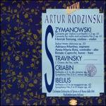Szymanowski: Concerto for violin and orchestra; Stravinsky: L'Oiseau de Feu Suite; Scriabin: Symphony No. 3 in C mino