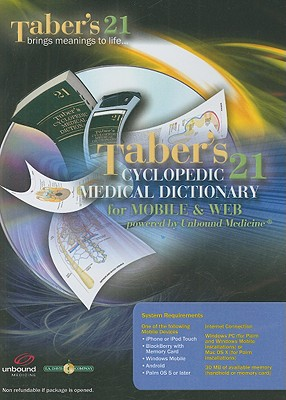 Taber's Cyclopedic Medical Dictionary for Mobile and Web on CD-ROM: Powered by Unbound Medicine - Venes, Donald