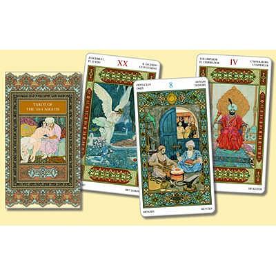 Tarot of the 1001 Nights - Vigna, Bepi