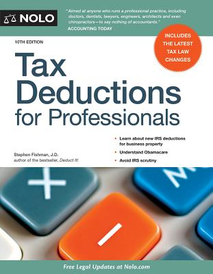 Tax Deductions for Professionals - Fishman, Stephen, Jd