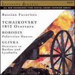 Tchaikovsky: 1812 Overture; Borodin: Polovtsian Dances; Glinka: Overture to Ruslan and Lyudmila