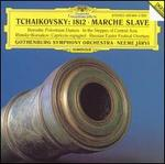 "Tchaikovsky: Overture ""1812""; Marche slave; Borodin: In the Steppes; Polovtsian Dances; Rimsky-Korsakov: Russian East - Gothenburg Churchbells (bells); Gothenburg Symphony Brass Band; Gothenburg Symphony Chorus (choir, chorus); Gothenburg Symphony Orchestra; Neeme Järvi (conductor)"