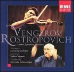 Tchaikovsky: Sérénade mélancolique Op26; Stravinsky: Violin Concerto in D