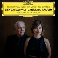 Tchaikovsky, Sibelius: Violin Concertos - Lisa Batiashvili (violin); Staatskapelle Berlin; Daniel Barenboim (conductor)
