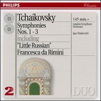 Tchaikovsky: Symphonies 1-3 - Igor Markevitch (conductor)