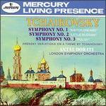 Tchaikovsky: Symphonies Nos. 1-3; Arensky: Variations on a Theme of Tchaikovsky