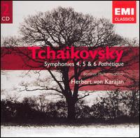 "Tchaikovsky: Symphonies Nos. 4, 5 & 6 ""Pathétique"" - Berlin Philharmonic Orchestra; Herbert von Karajan (conductor)"