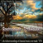 Tchaikovsky: Variations on a Rococo Theme, Op. 33; Khachaturian: Concerto-Rhapsody