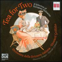 Tea for Two - Davide Cabassi (piano); Maurice Steger (recorder); Orchestra della Svizzera Italiana; Howard Griffiths (conductor)