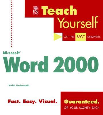 Teach Yourself Microsoft Word 2000 - Underdahl, Keith