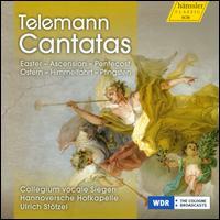 Telemann: Cantatas - Angela Froemer (contralto); Georg Poplutz (tenor); Jens Hamann (bass); Stefanie Wust (soprano);...
