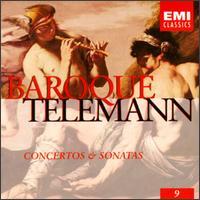 Telemann: Concertos & Sonatas - Albert Calvayrac (trumpet); Andrei Abramenkov (violin); Elaine Shaffer (flute); Elisabeth Gilels (violin);...