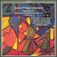 Telemann: Magnificat in C; Hamburgische Kapitänsmusik 1730 - Harry van der Kamp (bass); Mieke van der Sluis (soprano); Philip Langshaw (bass); Veronika Skuplik (violin);...