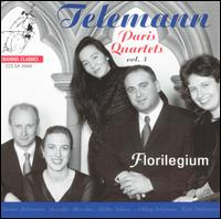 Telemann: Paris Quartets, Vol. 3  - Florilegium; Jennifer Morsches (cello); Jennifer Morsches (viola da gamba); Reiko Ichise (viola da gamba); Reiko Ichise (cello)