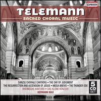 Telemann: Sacred Choral Music - Ann Monoyios (soprano); Axel Köhler (alto); Barbara Schlick (soprano); Christoph Prégardien (tenor); Claudia Schubert (alto);...