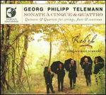 Telemann: Sonate à Cinque & Quattro
