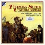 Telemann: Suites; Concerto - Alberto Grazzi (bassoon); Jane Coe (bass viol); Lorraine Wood (oboe); Mark Bennett (trumpet); Michael Harrison (trumpet);...