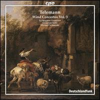 Telemann: Wind Concertos, Vol. 3 - Camerata K�ln (chamber ensemble); La Stagione Orchestra; Michael Schneider (conductor)